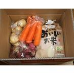 棚田米と根菜類
